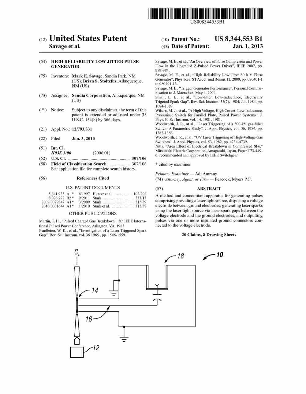 High reliability low jitter pulse generator – 8344553 | | General